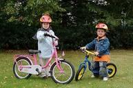 Kinderfahrräder in unterschiedlichen Zoll Größen