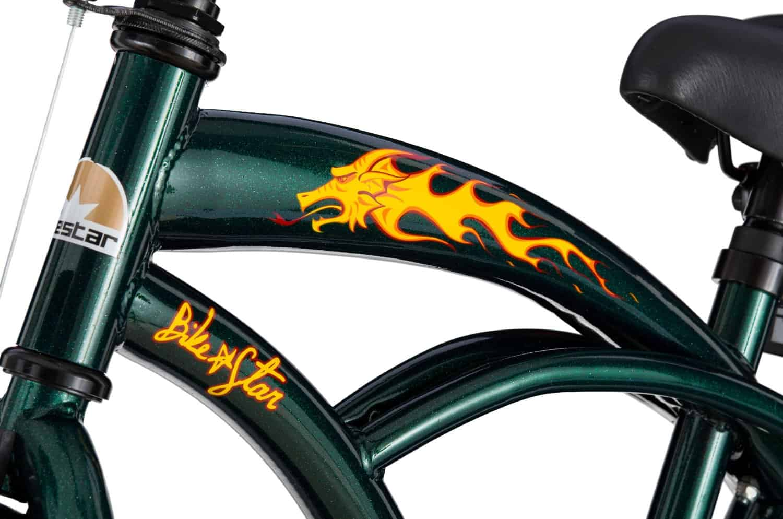bikestar Cruiser 16 Zoll Jungs Details